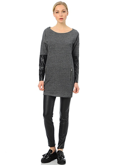 Vero Moda Leggings | PU Siyah
